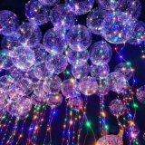 Hallowmas党装飾のためのLEDボボの泡気球