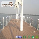 Decking extérieur en bois du composé WPC de bonne qualité de 140*23 millimètre