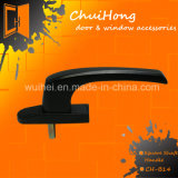 Maniglia di portello calda della maniglia di finestra dell'asta cilindrica del quadrato del hardware della finestra di vendita