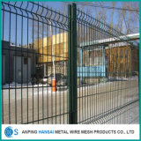 Frontière de sécurité incurvée par 3D de vente chaude de treillis métallique de qualité
