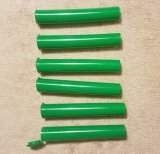 Plastik-pp.-gemeinsame Phiole-Gefäße mit Kappe