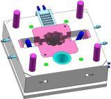 Molde de moldeado a presión de alta presión de disipador de calor del cuerpo de luz
