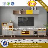 Verre aluminium moderne Partition/station de travail de bureau en bois (HX-8N0950)
