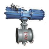 Tipo fijo de funcionamiento manual Semi Válvula de bola (Alemania c tipo válvula de bola)