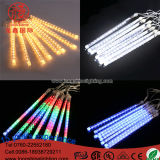 LED Ligthingの流星シャワー雨管のクリスマスの装飾ライト