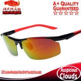8127 lunettes de soleil polarisées par sport d'équitation d'Aluminium-Magnésium