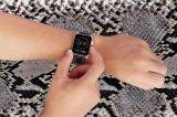 полоса неподдельной кожи 22mm для планки вахты Apple с переходниками