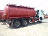 HOWO 16cbm 6X4はトラックの腐敗性タンクトラックをきれいにする