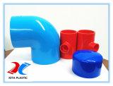 La norma DIN Tapa de PVC de color azul con 400mm