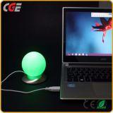 USB寝室の照明LED卓上スタンドのためのタュチ・コントロール小さいLED夜ライト