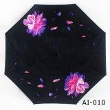 De dubbele Paraplu van de Auto's van de Laag uv-Bestand Omgekeerde Promotie met het Handvat van C