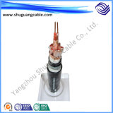Низкий изолировал Smoke/PVC/Screened/PVC обшитый кабель системы управления