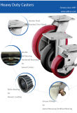Roulement à rouleaux roue de polyuréthane de 5 x 2 pouces