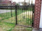 Portas de aço quentes exteriores do ferro feito do metal da venda por Handmade