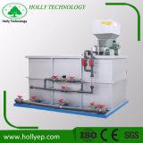装置に投薬するSS304自動凝集剤