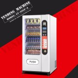 Coin and Bill Acceptor Snack and Cold drink Vending Machine LV-205f-a