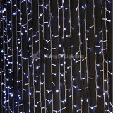 Estrellas Centelleantes exterior impermeable IP44 Cortina de luz LED de Navidad