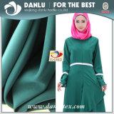 Negro Abya formal colorido tejido para las mujeres musulmanas visten