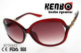Elegante óculos de sol com a peça de metal Kp70443 em espiral