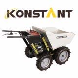 Konstant B&S 750 на базе Mini Dumper с электроприводом и опрокидывание погрузчика