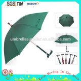 도매 자동차 열려있는 23inch 지팡이 목발 우산