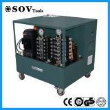 24 systèmes de régulation de levage synchrones hydrauliques d'AP cric de points