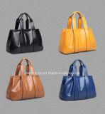 Signora di cuoio Handbags di modo dell'unità di elaborazione di stile del progettista delle donne di vendita calda operata popolare dei sacchetti