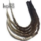Capelli sintetici Ombre 24 estensioni dei capelli di Dreadlocks del Crochet di pollice