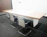 長方形の会合の車いす用テーブル部屋表のオフィス用家具の会議の机