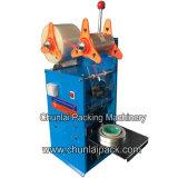 Máquina plástica do copo da selagem manual