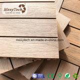 Плитка палубы Co-Extrusion прочного напольного термита упорная Anti-Slip деревянная составная