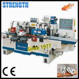Máquina Sopradora de madeira com quatro cabeças de corte do Fuso