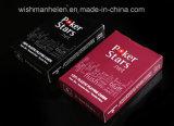 Покер играет главные роли покера PVC 100% карточки пластичного играя