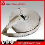 Tubulação do PVC da mangueira flexível do sistema de extinção de incêndios do incêndio da lona de 1 polegada