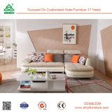 Hölzerne echte Sofa-Leder-Sofas mit Fabrik-Preis