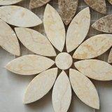Una decoración lujosa casa de piedra de la flor de buena calidad mosaico de mármol