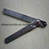 Гальванизированная поверхностная стальная польза шарнира на мебели или столе