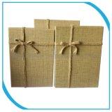 Caja de embalaje de regalo papel de color, tamaño personalizado de cartón caja de embalaje
