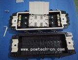 Caixa de junção de plástico de tipo horizontal 96 Fibras, Wareproof Material ABS/PC
