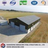 이디오피아에 있는 Prefabricated 가벼운 강철 구조물 창고