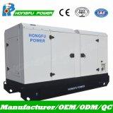 80kw Cummins Dieselgenerator-backupenergie, die mit leisem Kabinendach festlegt