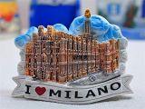 Berühmter Kühlraum-Magnet des Barcelona-touristischen Punkt-3D Polyresin für Küche-Dekoration