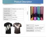 Vinyle métallique de transfert thermique de scintillement facile de Weed pour le vêtement