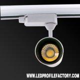 높은 루멘 방수 Dimmable 25W 30W 옥수수 속 LED 궤도 빛
