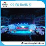 Pantalla de visualización de interior de alquiler de LED de HD P4 para el hotel