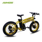 AMS-Tde-16 nuevo modelo de motor doble 20pulgadas neumático grande bicicleta eléctrica bicicleta de montaña