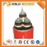 Tensão de aço de cobre 4core 2.5 de cabo distribuidor de corrente da armadura da fita baixa