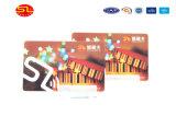 Kaarten van pvc van de douane de Duidelijke, Transparante Adreskaartjes