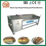 Type de brosse Gingembre Pommes de terre de la rondelle de manioc et machine à laver avec prix d'usine