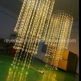 2018 nova cortina de Diamante de LED de luz para decoração de Casamento do Teto